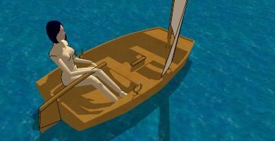 Small sailboat rudder design | David Chan