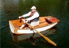 Build the Flapdoodle folding dinghy | intheboatshed.net