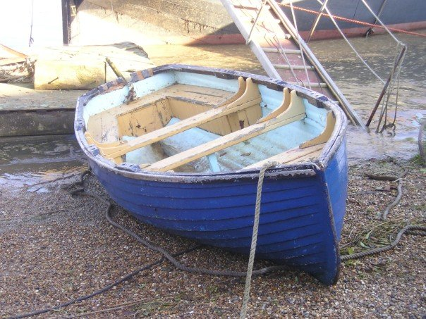 GRP barge boat at Maldon, Essex | intheboatshed.net