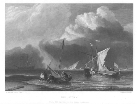The Storm by William Miller