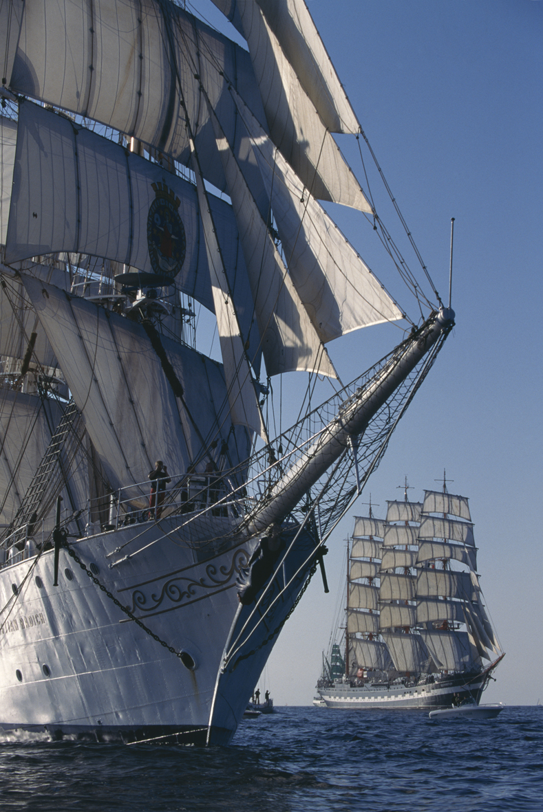 Tall ships exhibition at the National Maritime Museum ...