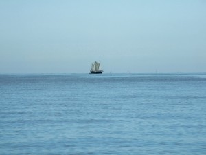 A mystery craft sails into Herne Bay