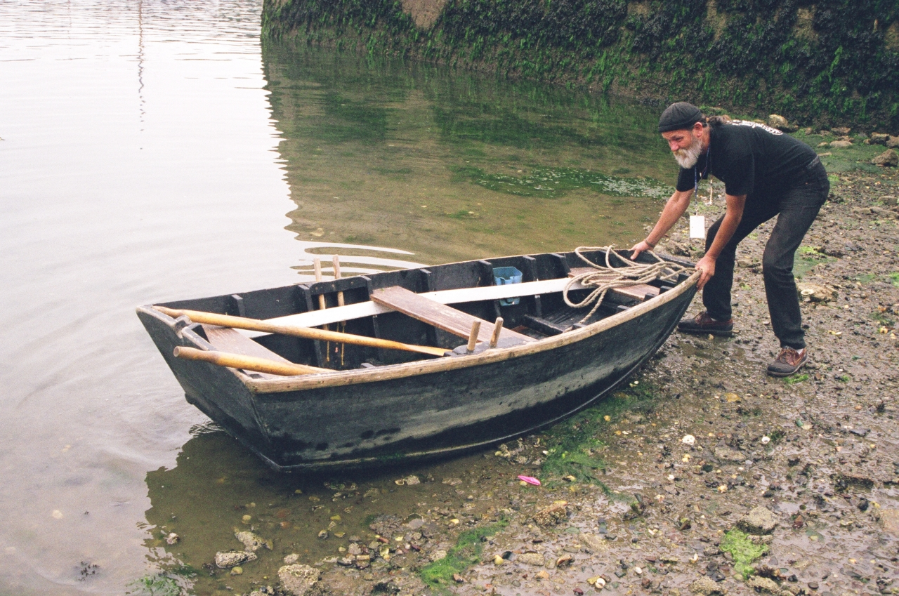 Punt Boat Plans : Claude worth on auray boats punts and yacht