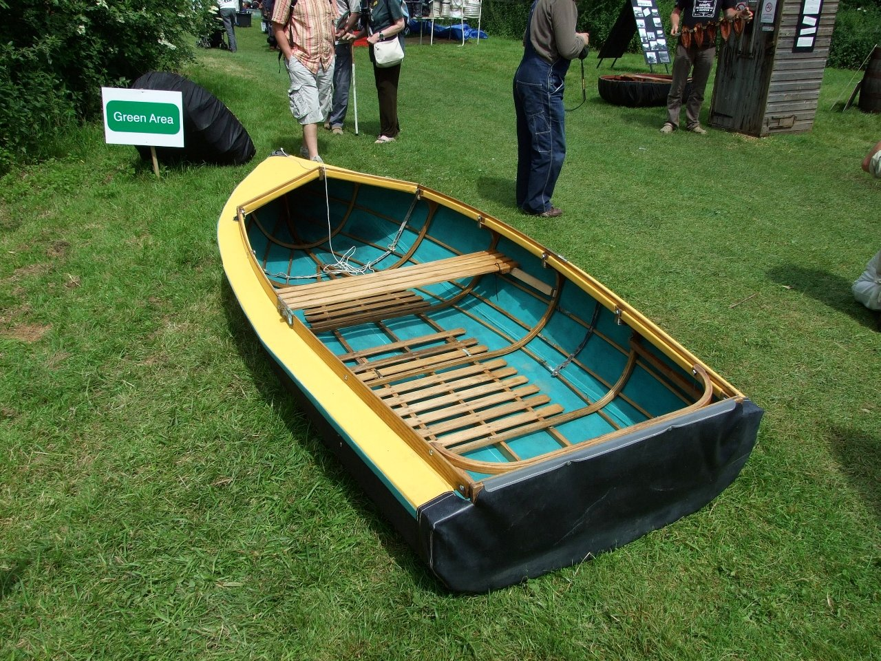 Folding and skin-on-frame boats at this year's Beale Park Thames ...