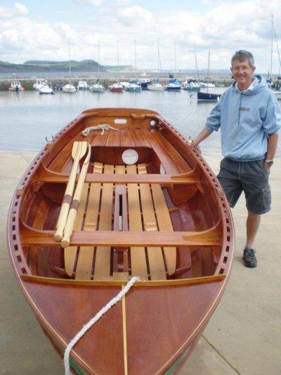 John Harris builds a Tammie Norrie | intheboatshed.net