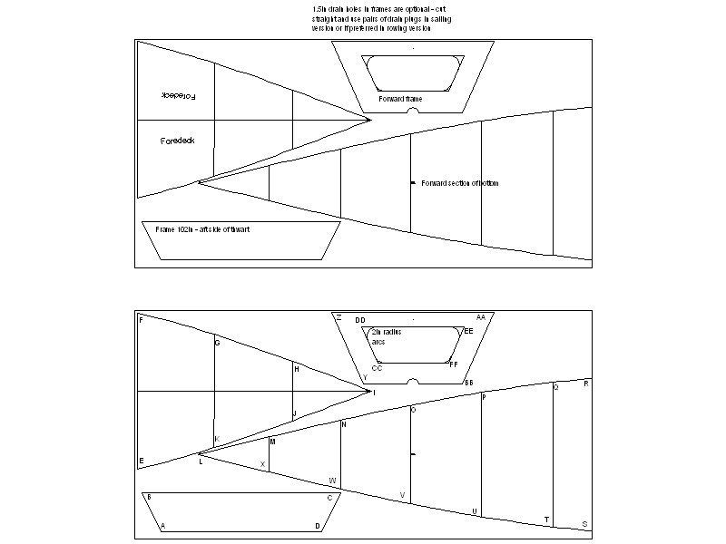 Stitch and Glue Boat Plans