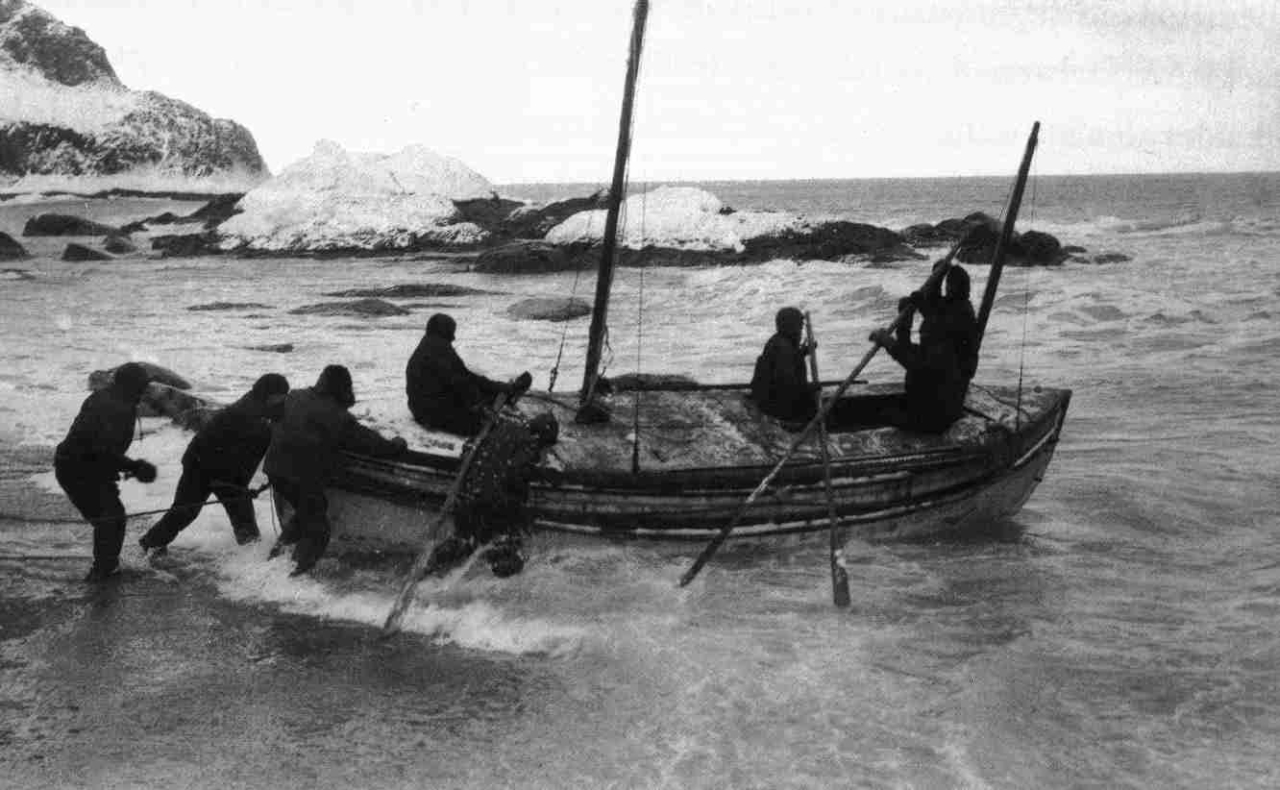 shackleton james caird