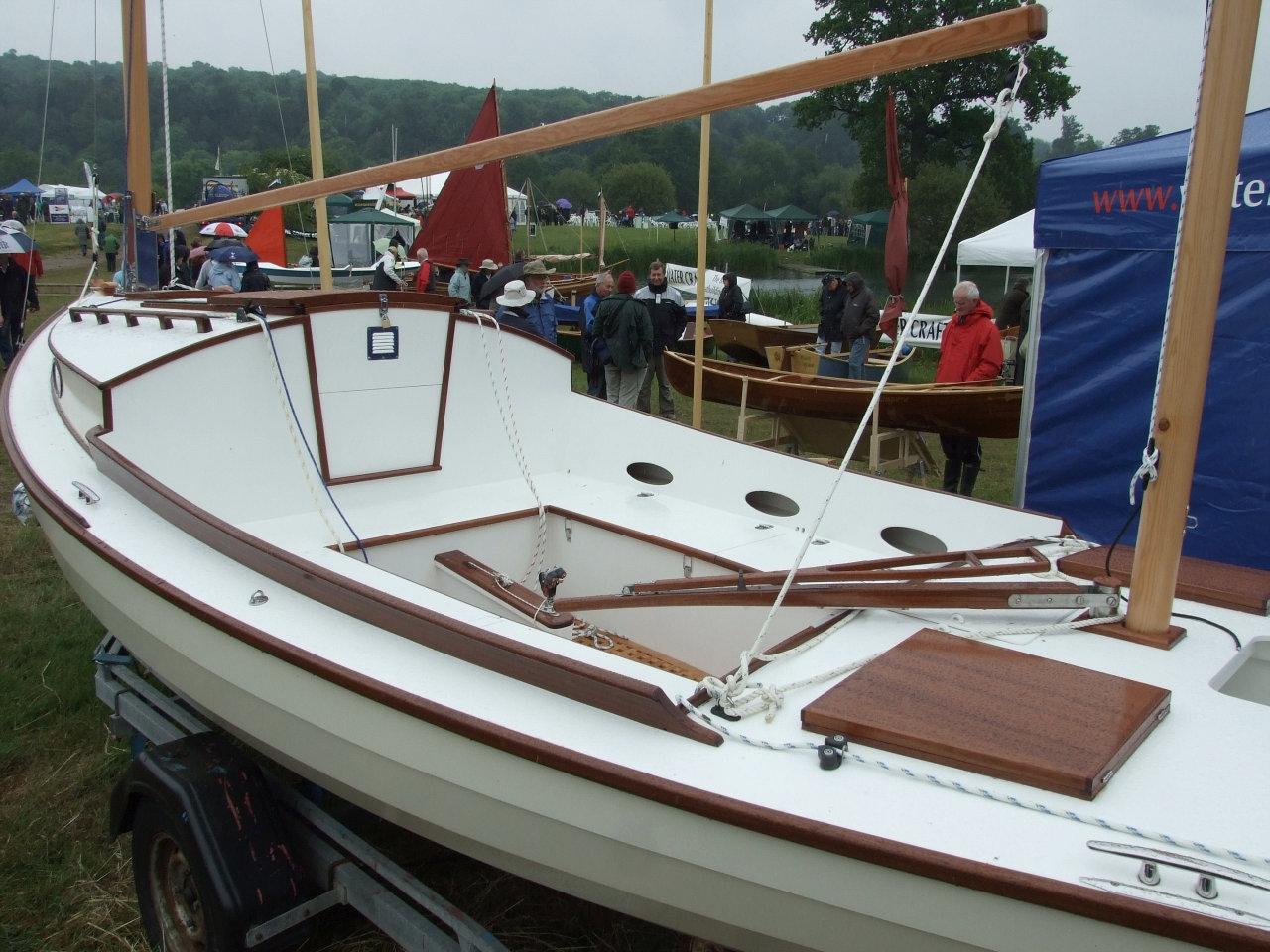 Bolger fishing boat plans | Whirligigs row