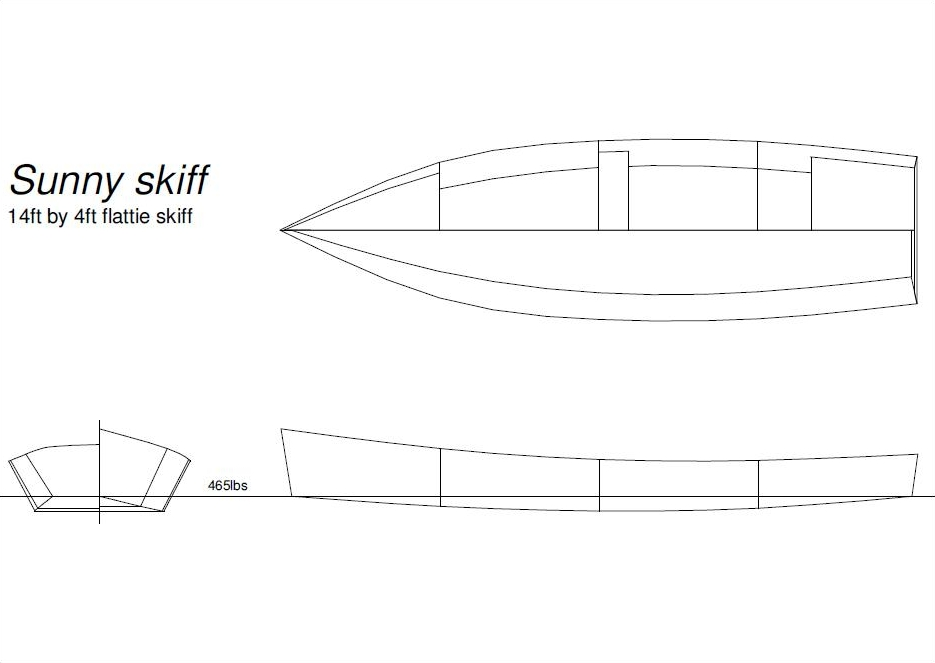 free boat plans, rowing boat plans, free boatbuilding plans ...