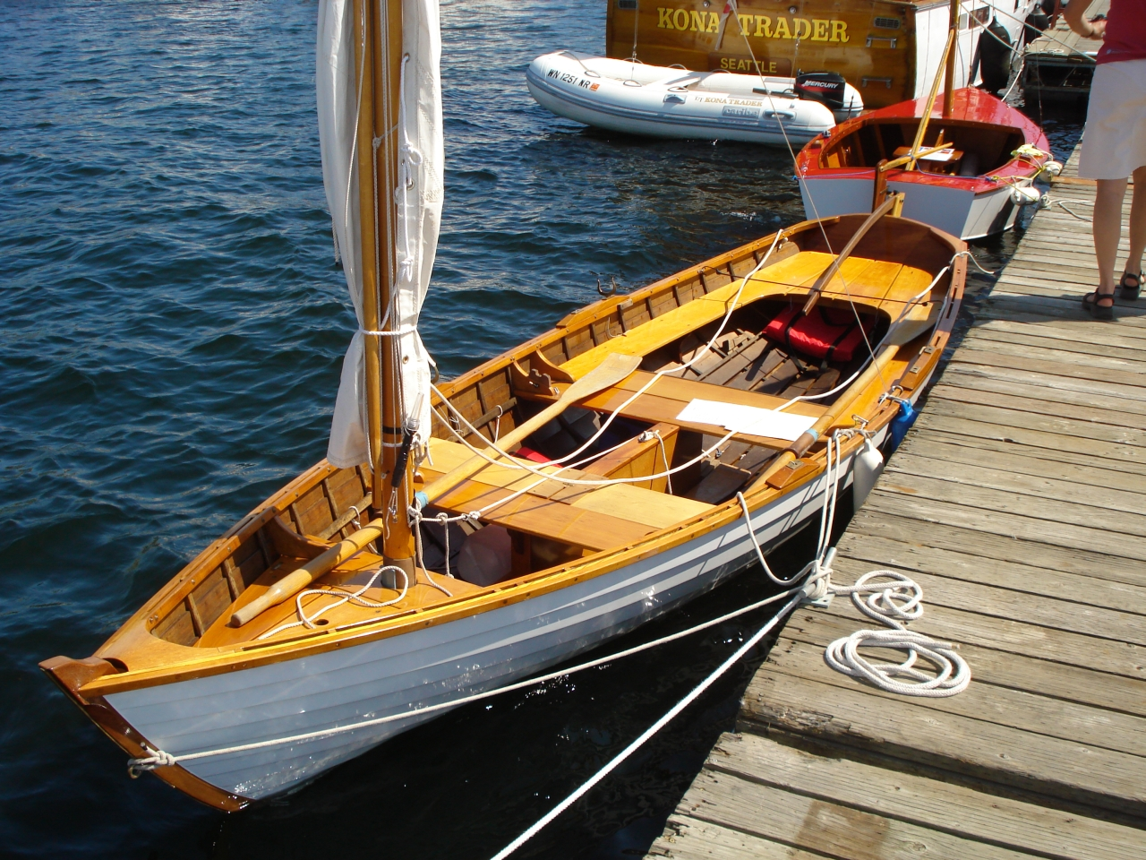 Duck boat and other plan: Small wooden boat building books