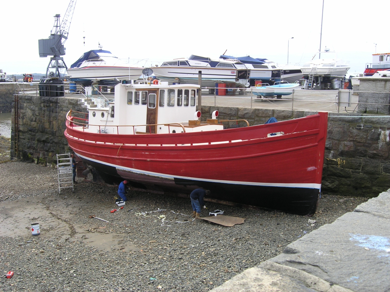 ... . She must be one of the last remaining Scottish Zulu fishing boats