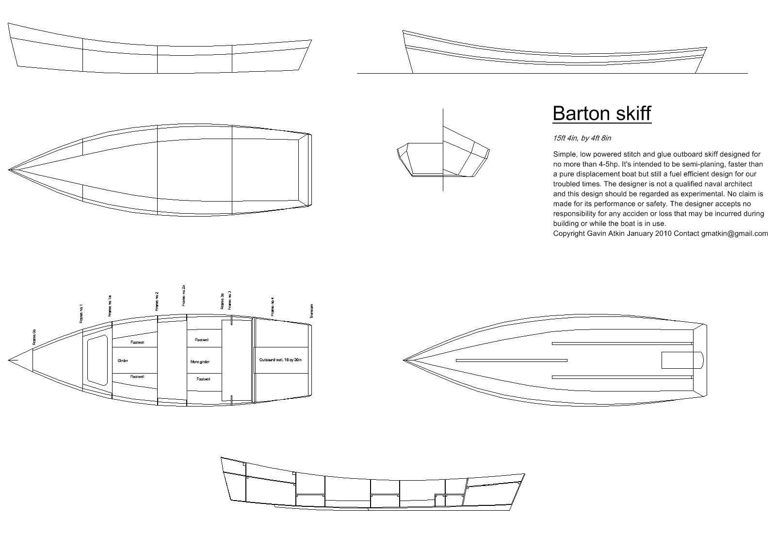 Small Wooden Boat Plans Free