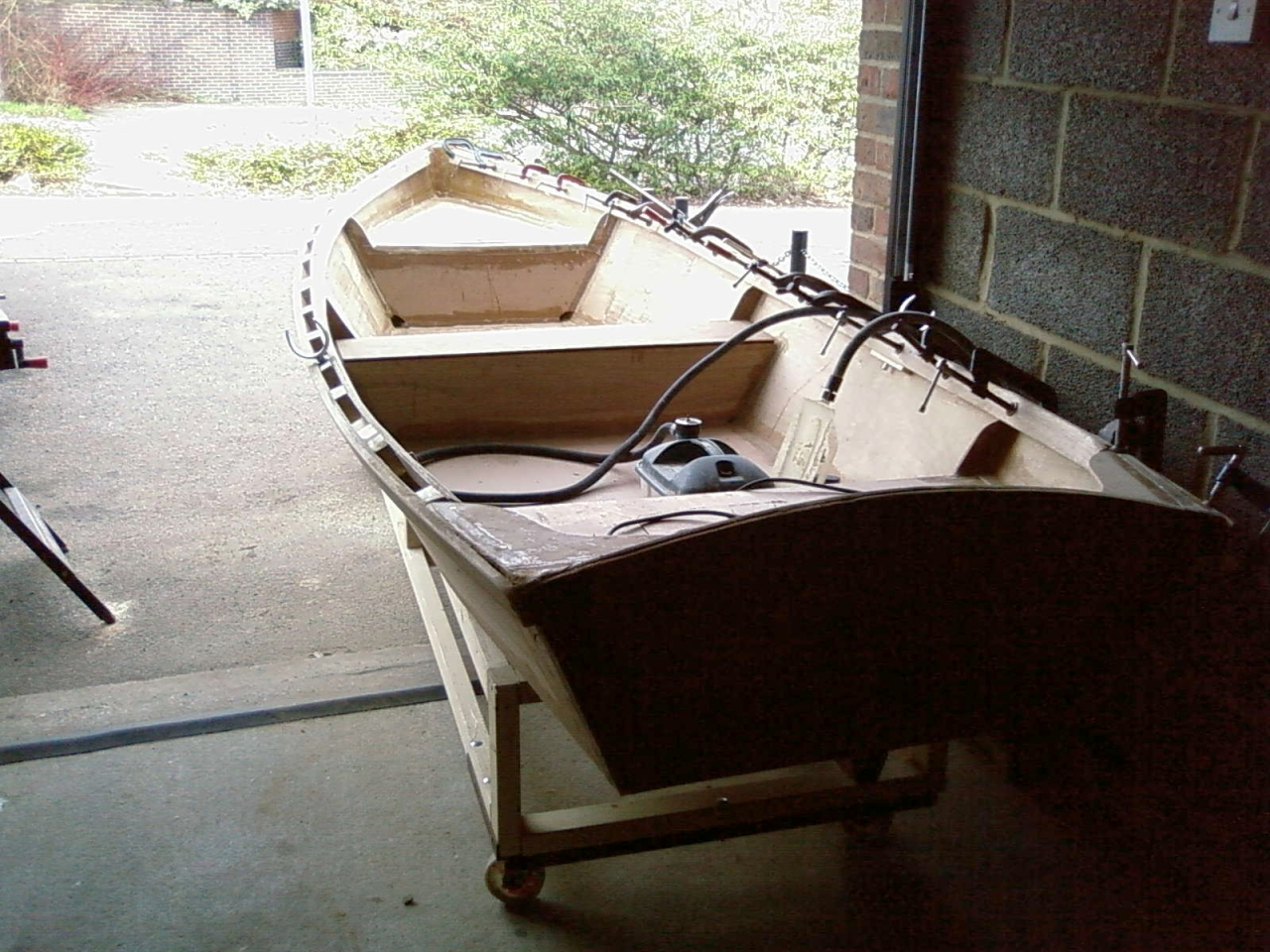 Plywood skiff plans | buat boat
