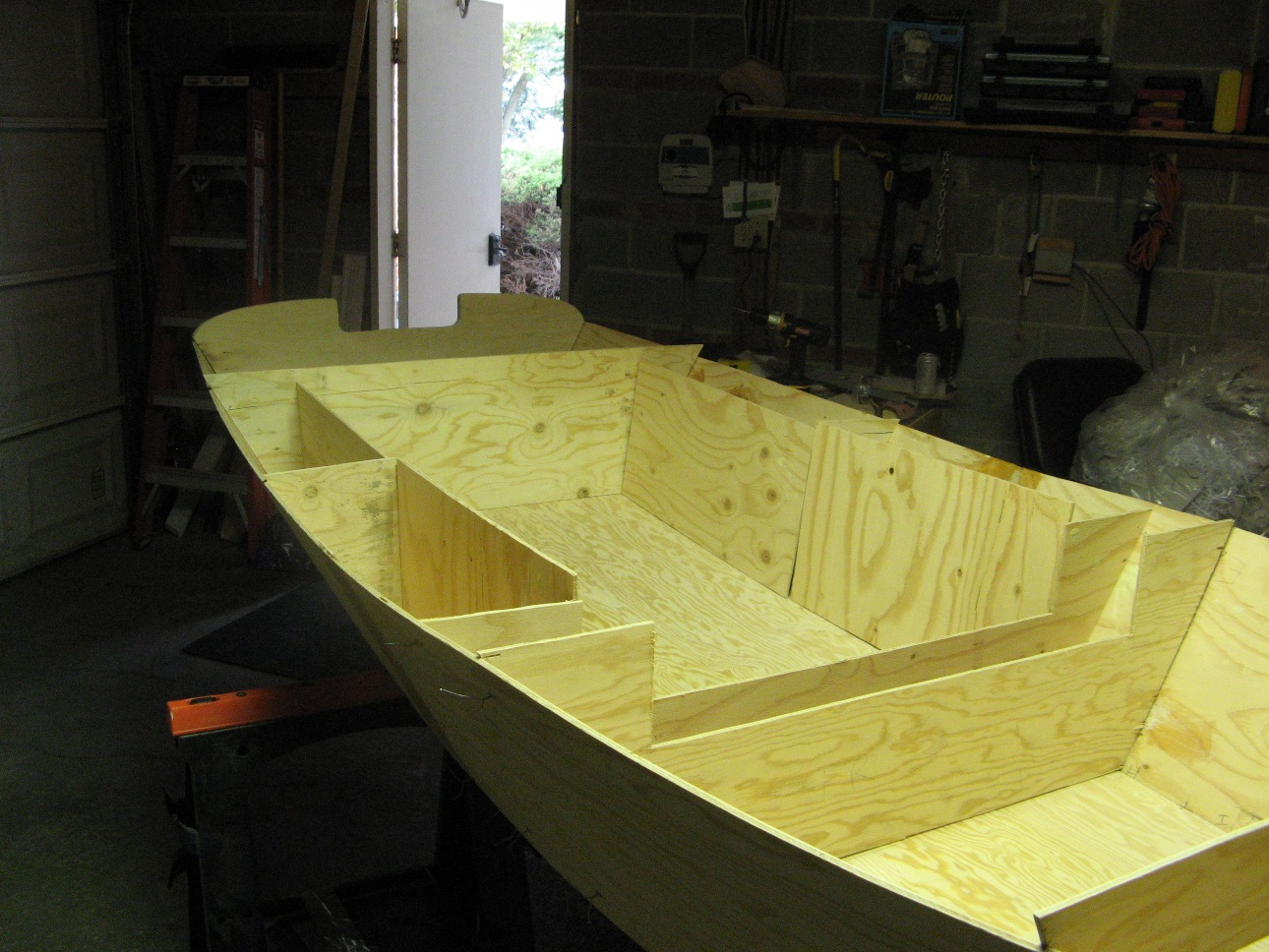 plywood boat plans, boat building plans, plywood skiff, sailing skiff ...
