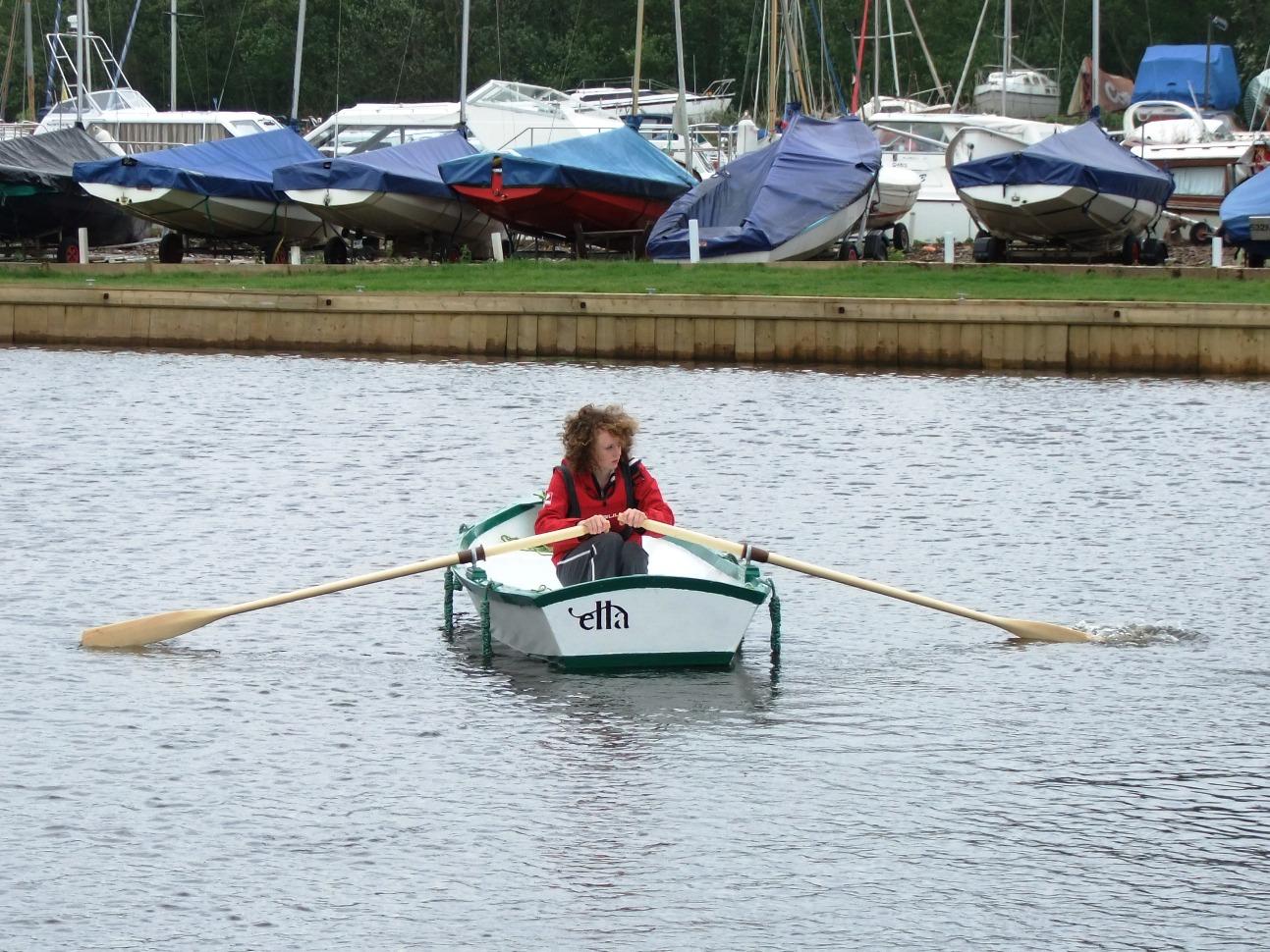 Ella Skiff Free Boat Plans Plywood Boat Rowing Boat Gavin Atkin