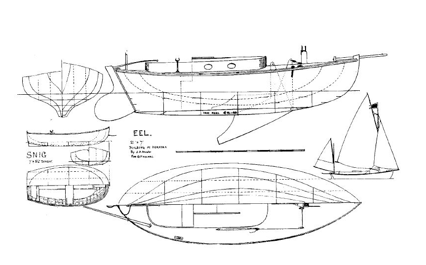 Topic Elver canoe yawl plans ~ Sailing Build plan