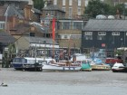 Pretty motorsailer Medway paddlesteamer