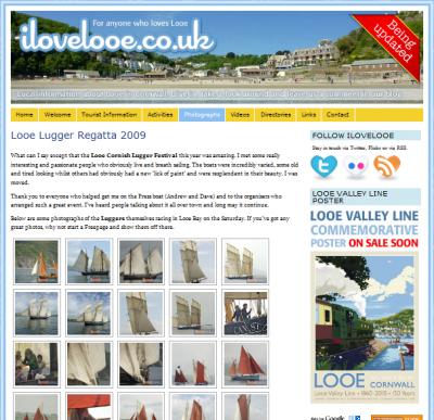 Looe luggers regatta