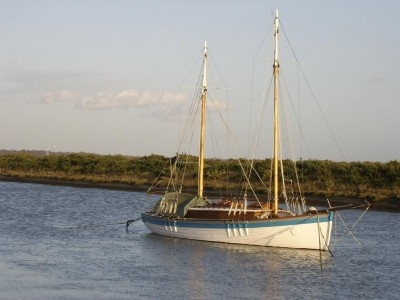 Converted RN sailing cutter So Long