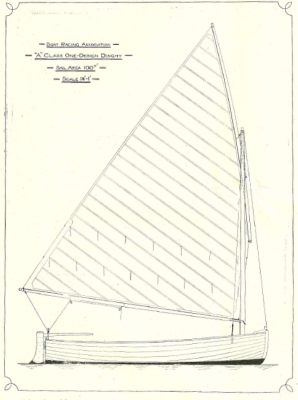 A-Class one design dinghy specification