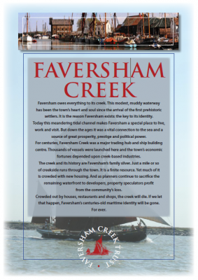 Faversham Creek Trust leaflet