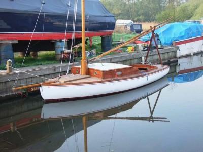 Jamesia II afloat April 2011