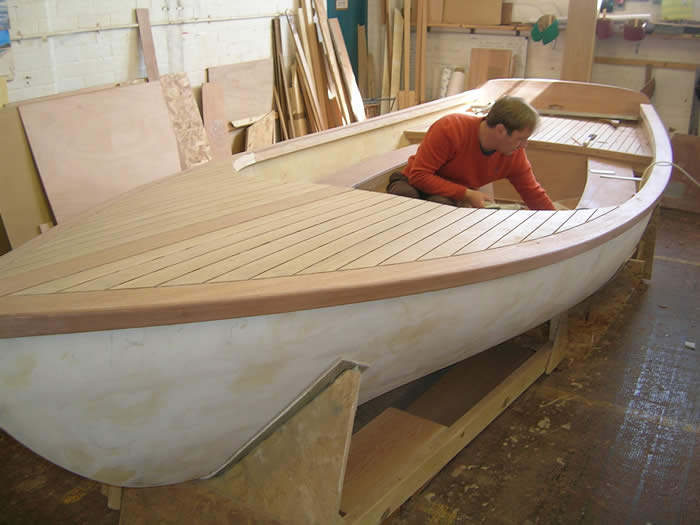 Students at the Boat Building Academy race to complete boat building projects | intheboatshed.net