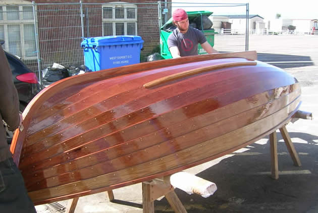 Clinker Building Products : Diy wood row boat details kyk