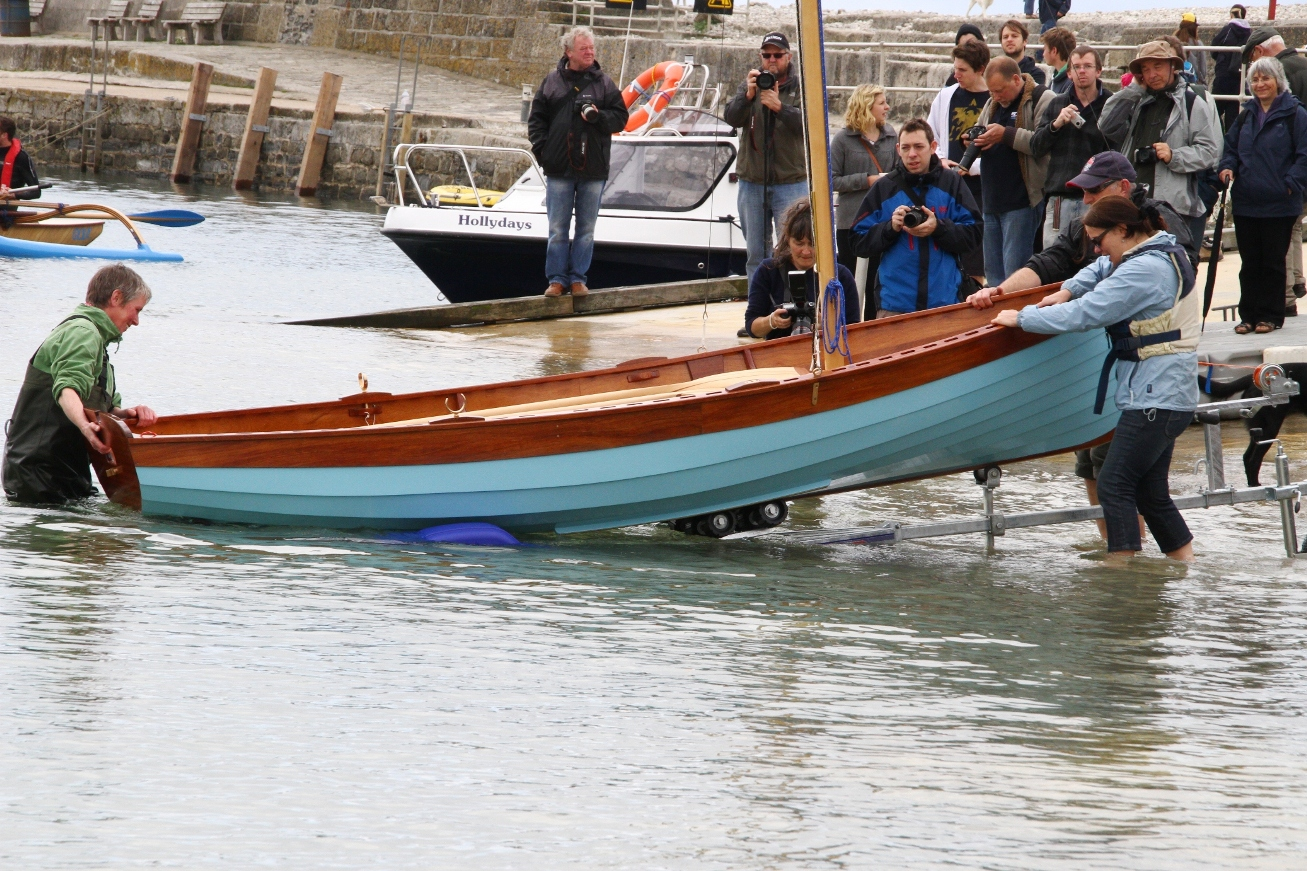 Iain Oughtred-designed Tammie Norrie built by BBA student | intheboatshed.net