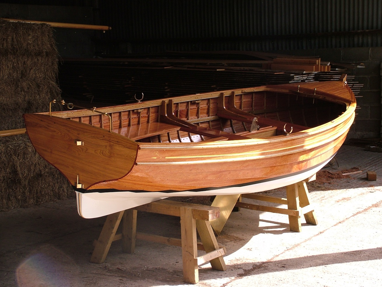 Stirling & Son take a clinker-built 14ft sailing dinghy to ...