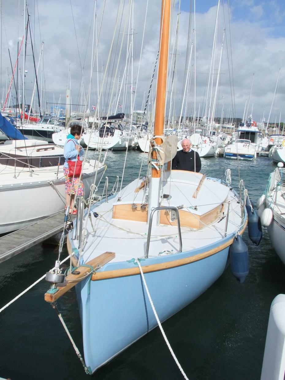 François Vivier's brilliant Pen-Hir small sailing cruiser ...