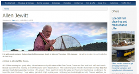 Alan Jewitt obituary Tamar fisherman