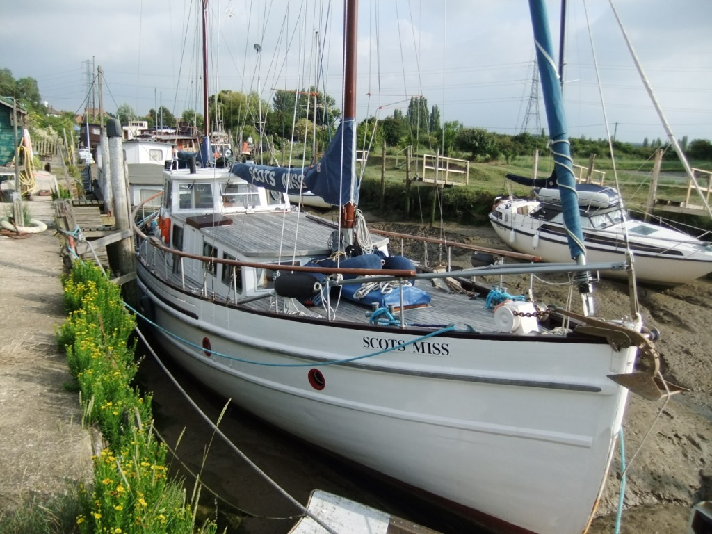 Lovely weatherhead built fishing boat conversion scots for Fishing boats for sale