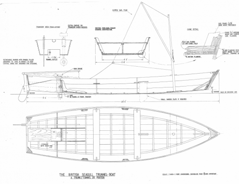 More details of the trunnell boat or Poole canoe | intheboatshed.net