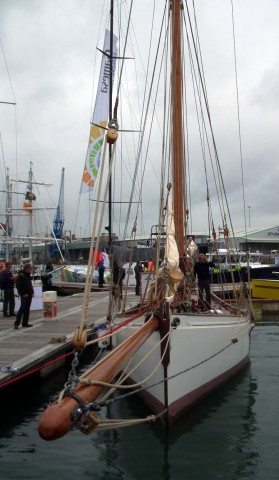 Modern-built Victorian racing cutter Integrity impresses at the Southampton Boat Show ...
