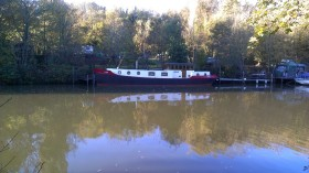 Boats on the Medway at Allington 11