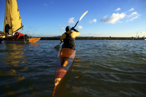Touring kayak - Ewan Thomson - Jenny Steer 154