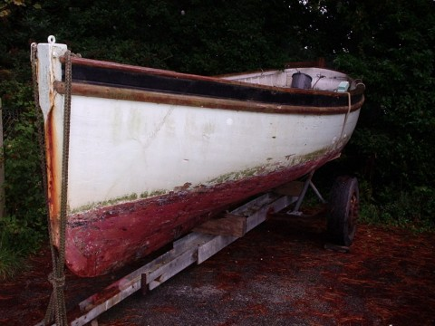 Marcus Lewis dinghy for sale – and a Percy Mitchell tosher too | intheboatshed.net