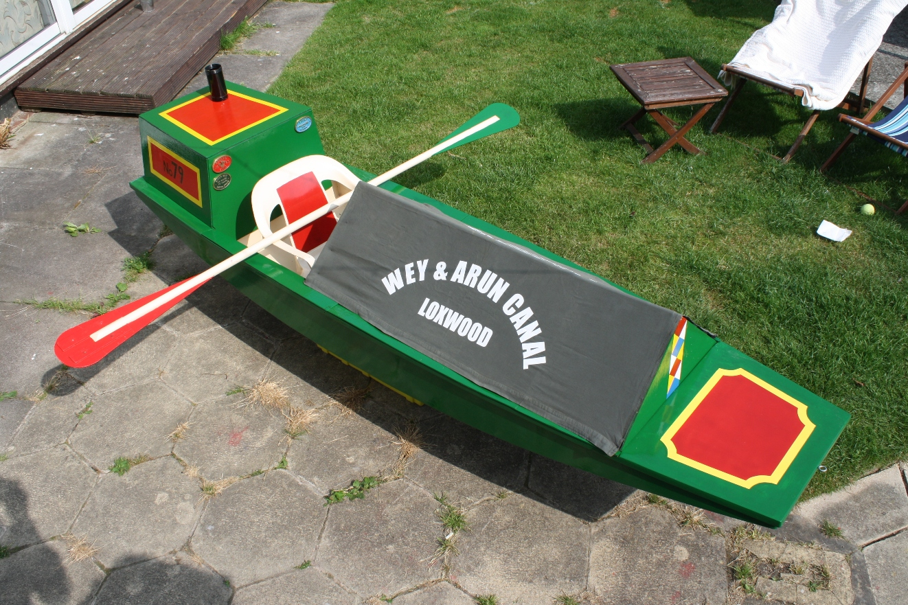 Mouseboat narrowboat Mouseboat 79 gets ready for her public ...