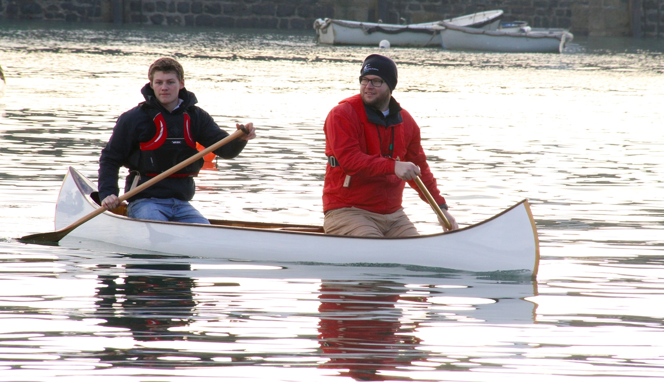 ... Academy December 2013 launch – post no 1, a modified Hiawatha canoe