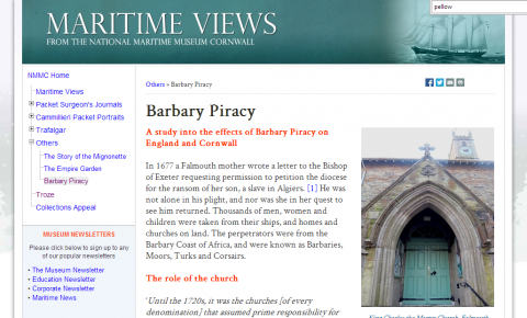 NMMC Barbary Pirates