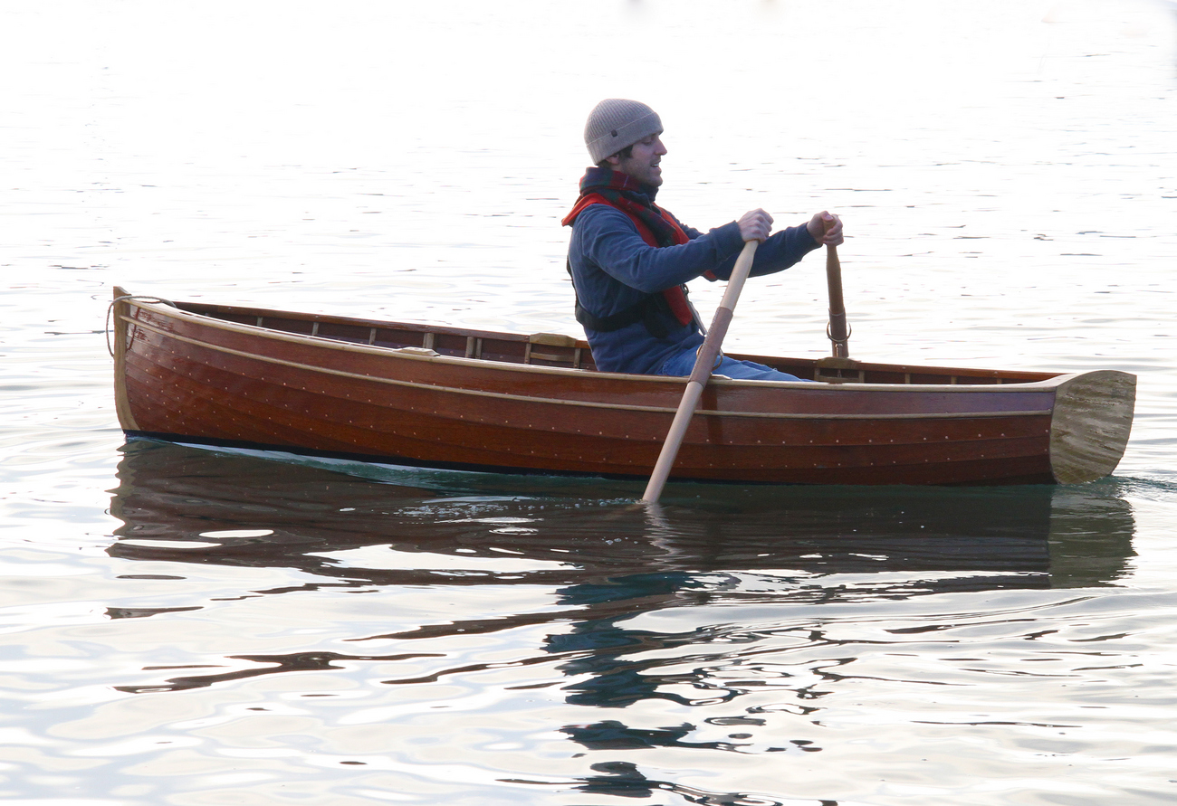 10′ traditional clinker rowing boat © Derek Thompson December 2013 (194) | intheboatshed.net
