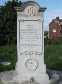 Captain Charles Algernon Fryatt gravestone
