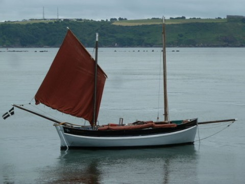 Cornish lugger Spirit of Mystery