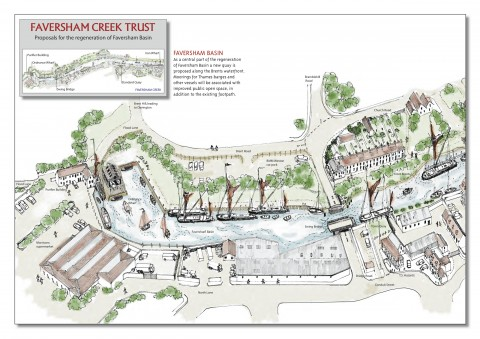 FCT proposals for the regeneration of Faversham Basin