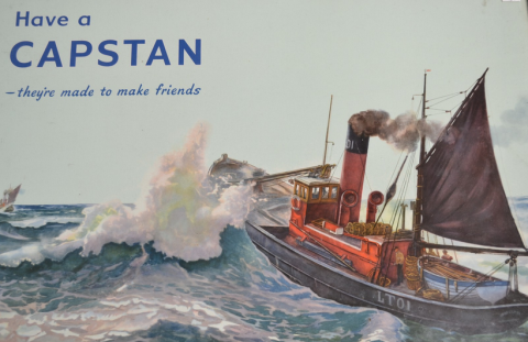 Wills Capstan poster
