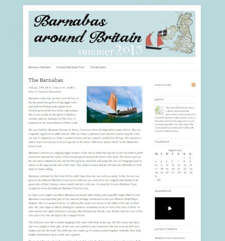 Barnabas around Britain