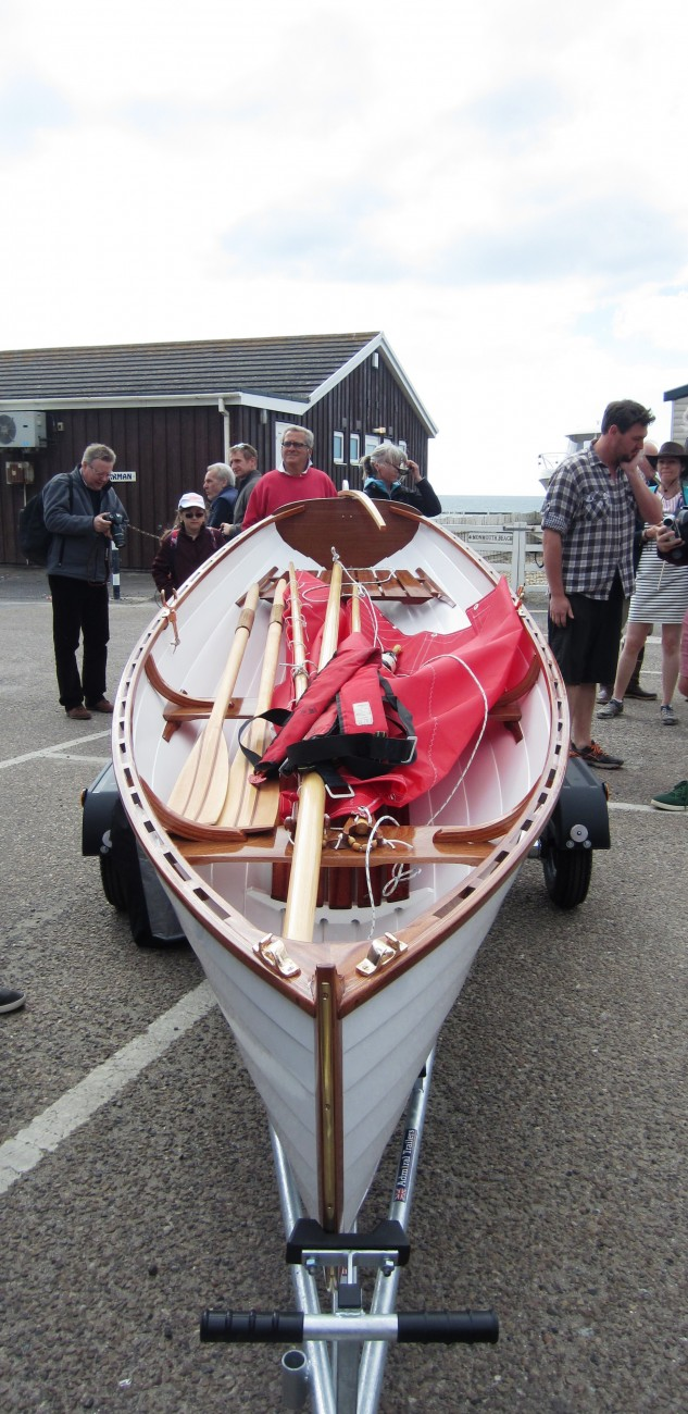 ... 10, 2015 633 × 1300 BBA students build an Iain Oughtred Acorn Skiff