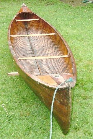 1910 Canadian canoe for sale in Kent – intheboatshed net