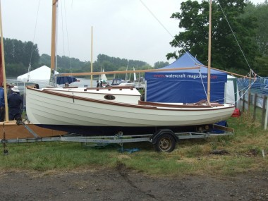 Chebacco boat designed by Phil Bolger, built by Academy ex ...